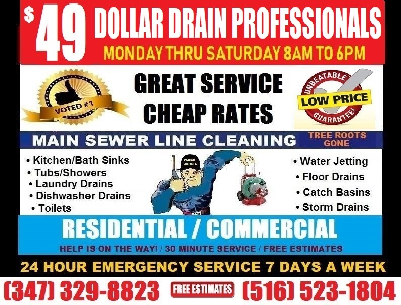 Cheap John's Sewer And Drain Professionals
