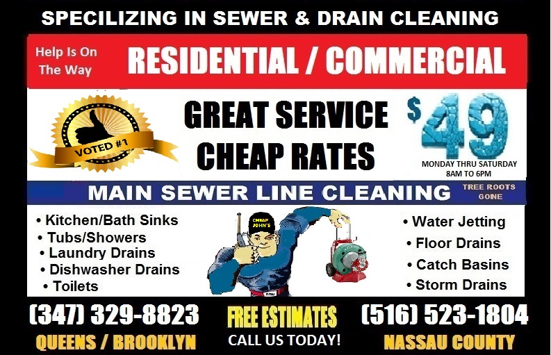 Sewer Cleaning, Drain Cleaning Services,
