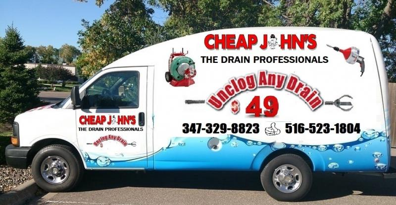 Cheap John's The Drain Professionals