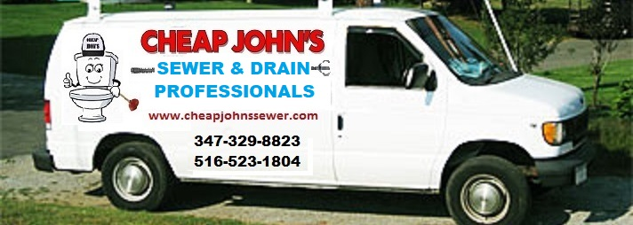 Cheap John's The Drain Professionals Van