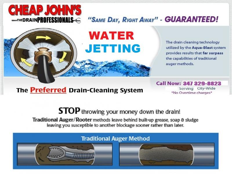 Cheap John's Water Jetting